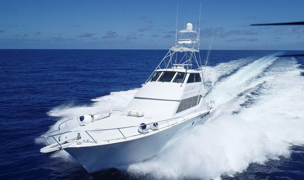 Used Hatteras 70 Convertible Fishing Boat For Sale