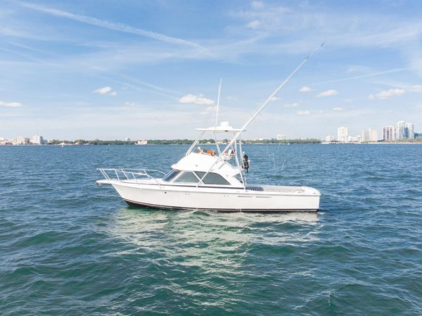 Used Bertram B35 Flybridge Sportfish Sports Fishing Boat For Sale