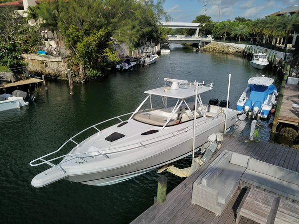 Used Intrepid 348 Center Console Fishing Boat For Sale
