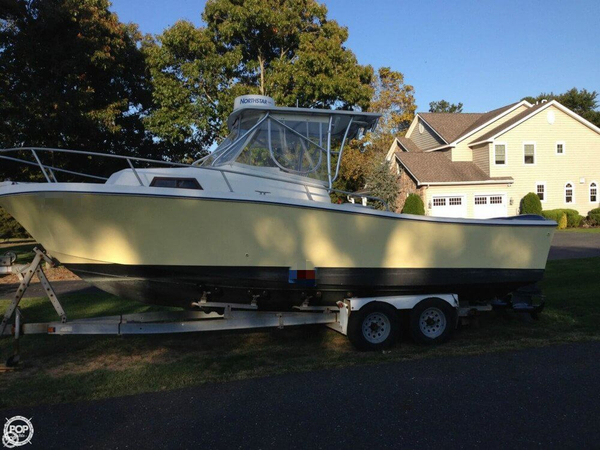 Used Mako 250 Walkaround Fishing Boat For Sale
