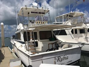 Used Ricker Flybridge Convertible Fishing Boat For Sale
