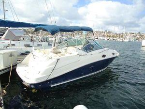 Used Sea Ray 240 Sundancer Sports Cruiser Boat For Sale