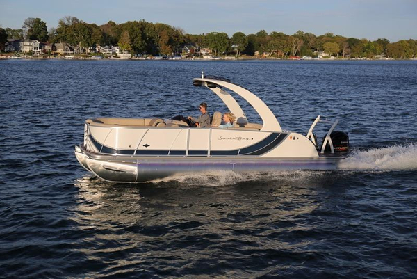 New South Bay 725 Sport Deluxe 30 Pontoon Boat For Sale