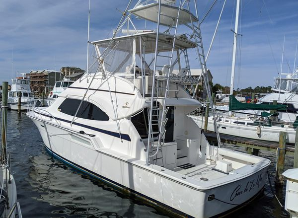 Used Bertram 450 Convertible Fishing Boat For Sale