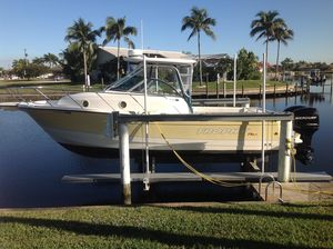 Used Trophy 2902 Walkaround Saltwater Fishing Boat For Sale