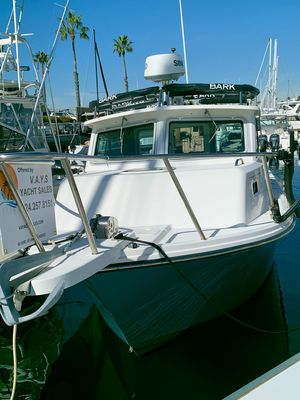 Used Parker 2520 Deep Vee Sport Cabin Sports Fishing Boat For Sale