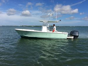 Used L&h 25 Center Console Fishing Boat For Sale