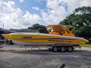 Used Sonic 36 Cuddy Center Console Fishing Boat For Sale