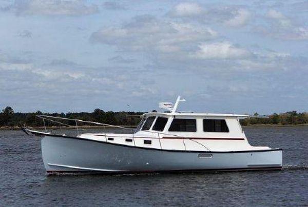 Used Northern Bay John Deere Downeast Fishing Boat For Sale