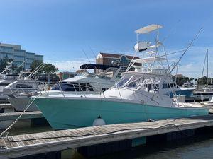 Used Topaz 36 Custom Express Sportfisherman Sports Fishing Boat For Sale
