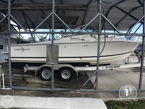 Used Albemarle 248 XF Walkaround Fishing Boat For Sale