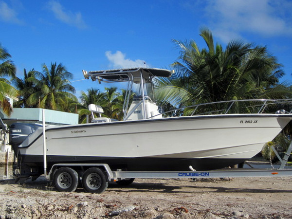 Used Stamas 240 Tarpon Center Console Boat For Sale
