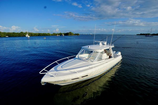 Used Intrepid 375 Walkaround Center Console Fishing Boat For Sale