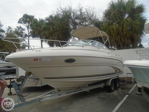 Used Sea Ray 245 Weekender Walkaround Fishing Boat For Sale
