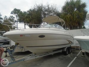 Used Sea Ray 245 Weekender Walkaround Fishing Boat For Sale
