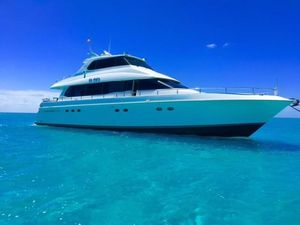 Used Lazzara 76 Skylounge Motor Yacht For Sale