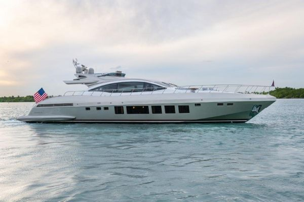Used Mangusta Maxi Open Motor Yacht For Sale