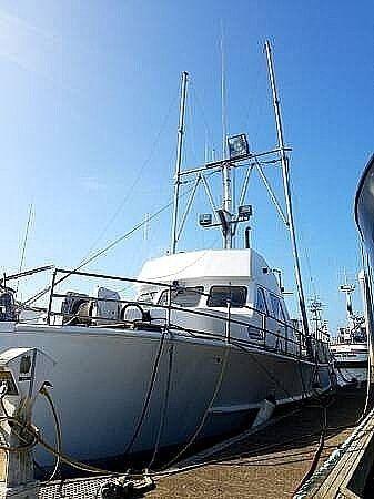 Used Uniflite 49 Tuna Boat For Sale