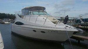 Used Carver 350 Mariner Salon Aft Cabin Boat For Sale