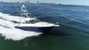 Used Cabo 44 HTX Express Cruiser Boat For Sale