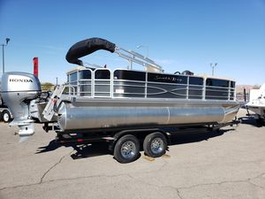New South Bay 222cr 2.75 Pontoon Boat For Sale