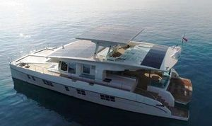 New Serenity 64 Solar Catamaran Power Catamaran Boat For Sale