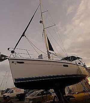 Used Hunter 340 Sloop Sailboat For Sale