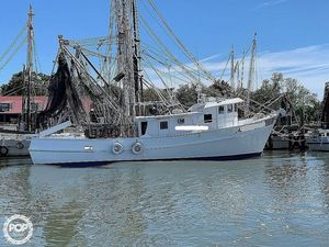 Used Custom Built 60 Trawler Boat For Sale