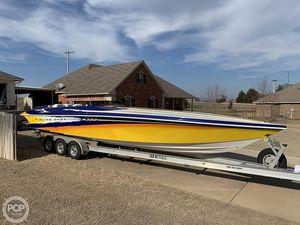 Used Hustler 388 Slingshot Poker Run Edition High Performance Boat For Sale