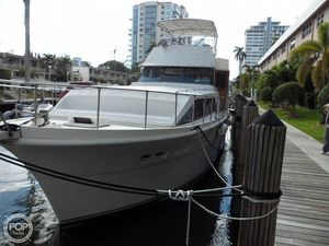 Used Concord 54 Pilot House Aft Cabin Boat For Sale