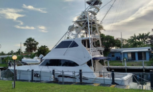 Used Riviera Enclosed Bridge Sports Boat For Sale