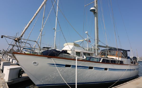 Used Maple Leaf Pilothouse Sailboat For Sale