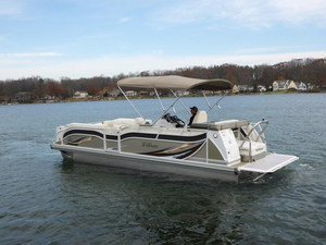 New Jc Tritoon 266 I/O Tritoon Pontoon Boat For Sale