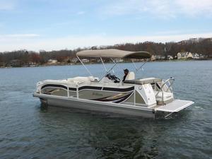 New Jc Tritoon 266 I/O Tritoon Pontoon Boat For Sale