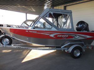 New Hewescraft 160 Sportsman Freshwater Fishing Boat For Sale