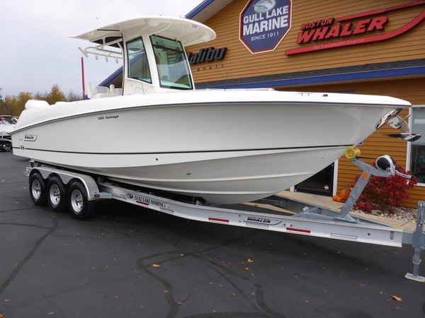 New Boston Whaler Center Console Fishing Boat For Sale