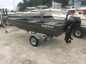 Used Alweld 1548VV Marsh Jon Boat For Sale
