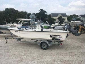Used Carolina Skiff 1765 DLX Saltwater Fishing Boat For Sale