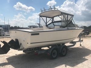 Used Albemarle 24 Cuddy Cabin Boat For Sale