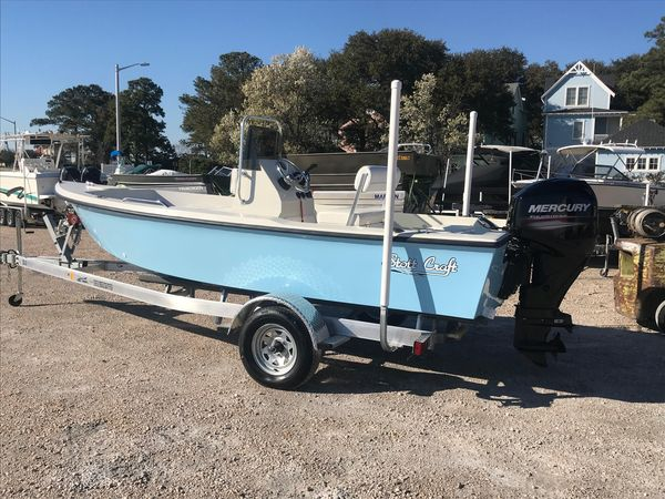 Used Stott Craft SCV 172 Center Console Fishing Boat For Sale
