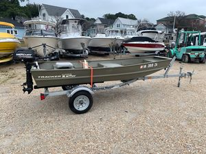 Used Tracker Topper 1236 Riveted Jon Boat For Sale