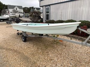 Used Dragonfly Marsh Hen 15 Flats Fishing Boat For Sale