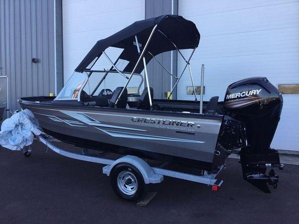 New Crestliner 1650 Super Hawk Freshwater Fishing Boat For Sale