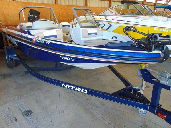Used Tracker Nitro Z7 Sport Bowrider Boat For Sale