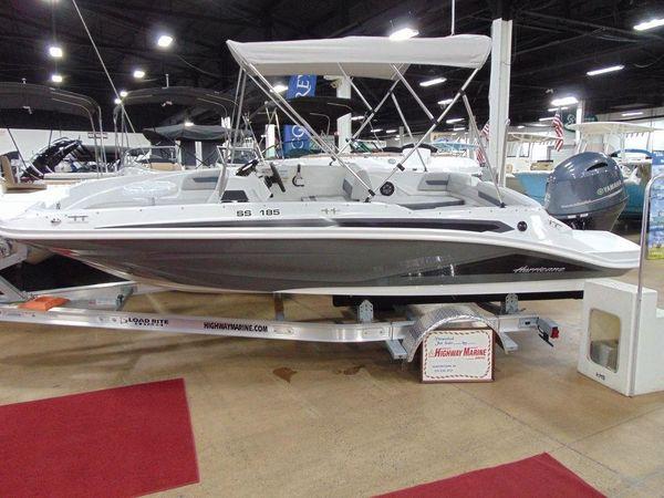 New Hurricane SunDeck Sport 185 OB Deck Boat For Sale