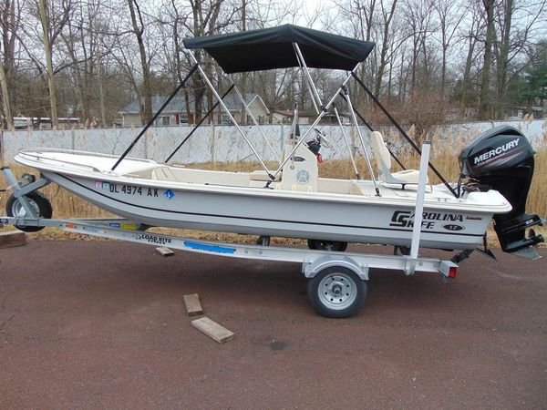 Used Carolina Skiff JV Series 17CC Center Console Fishing Boat For Sale