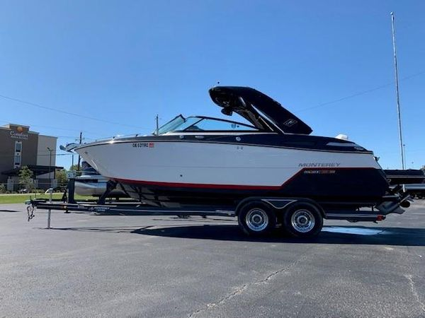 Used Monterey 258SS Bowrider Boat For Sale