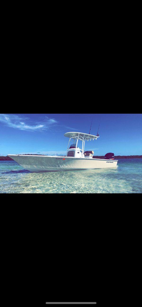 Used Sportsman 247 Bay Boat For Sale