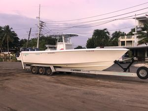 Used Contender 33 Tournament Saltwater Fishing Boat For Sale