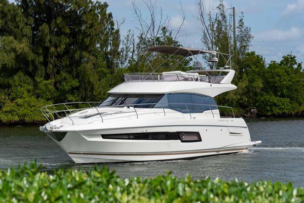 Used Prestige 460 Flybridge Boat For Sale